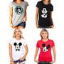 Camiseta Mickey Mouse Feminina Varios Modelos