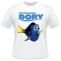 Camiseta Infantil Procurando Dory Filme Disney Pixar Camisa
