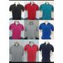 Camisas Polo Masculinas E Femenina Varias Marcas Kit Com 10