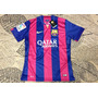 Camiseta 100% Original De Jogo Barcelona Personalizada