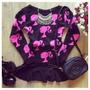 Blusa De Frio Barbie Feminina De Lã Tricô Otima Qualidade