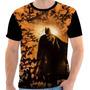 Camisa, Camiseta Batman - The Dark Knight Rises Theme, Herói