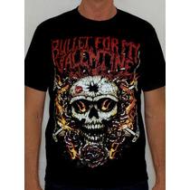 Camiseta Bullet For My Valentine - Skull And Rose