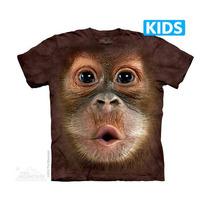 Camisa 3d Big Face Baby Orangutan Kids The Mountain Original