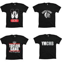 Camisetas Hiphop Rap Swag - 50 Cent, Eminem, G Unit, Diamond