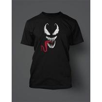 Camisas Camiseta Homem Aranha Spider Man Venom