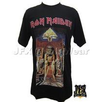 Camisa Camiseta Blusa Rock Iron Maiden Powerslave