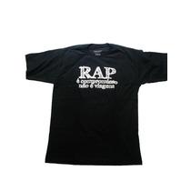 Camisa / Camiseta Hip Hop (frase Sabotage) Rap É Compromisso