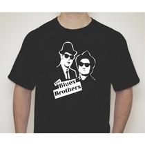 Camiseta Personalizada Blues Brothers - Irmãos Cara De Pau