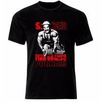 Camiseta Divertidas Academia Musculação Turma Do Chaves