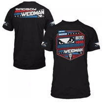 Camiseta Bad Boy Oficial Chris Weidman Preta Ufc 175
