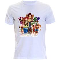 Camiseta Infantil Toy Story - Woody E Buzz Lightyea