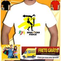 Camisa Educação Fisica- Camiseta Universitaria Bandas Cursos