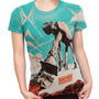 Camiseta Baby Look Filme Star Wars The Empire Strikes Back