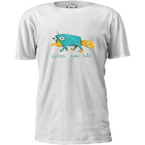 Camiseta Phineas & Ferb Perry Haters Gonna Hate