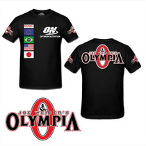 Camiseta Mr Olympia Animal Optimum Academia Musculação On