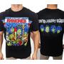 Camiseta De Banda - Ramones - Happy Family