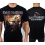 Camiseta De Banda - Iron Maiden - Death On The Road