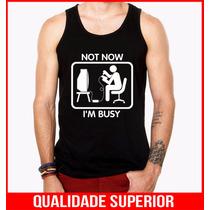 Camiseta Regata Masculina Engraçadas Personalizadas Games
