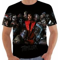 Camiseta Michael Jackson Modelo 25 Thriller