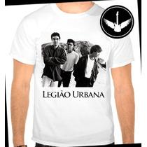 Camiseta Legião Urbana Baby Look Regata Banda Rock Camisa