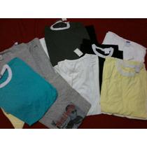 Lote 47 Camisetas Masculina Nova Ponta Estoque Fotos Reais