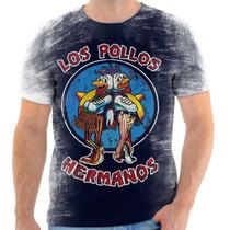 Camisa, Camiseta Breaking Bad - Mod 13 - Los Pollos Hermanos