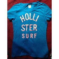 Camiseta Feminida Hollister - Tamanho P