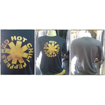 Camiseta Banda Red Hot Chilipeppers G C/ Nota Fiscal