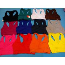 Kit 5 Tops Fitness Suplex Poliamida Academia Ginastica