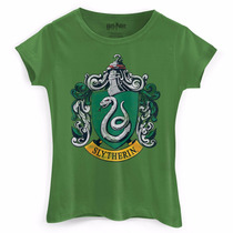 Camiseta Feminina Harry Potter Slytherin - Bandup!