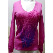 Camiseta Feminina Tapout Rosa Mod. Original Usa