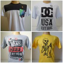 Camisetas Originais - Lacoste Volcom Hurley Element