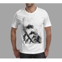 Camiseta Musica Instrumento Musica Contra Baixo Frete Grátis