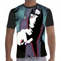 Camisa Camiseta Anime Naruto Kakashi Uchiha Itachi 009