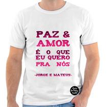 Camiseta Do Jorge E Mateus,sertanejo,estampada 6