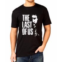 Camiseta The Last Of Us Jogo Exclusiva Video Game Ps3 Ps4