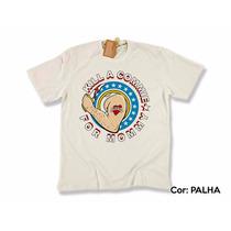 Camiseta De Direita- Ramones, Kill A Commie For Mommy