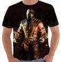 Camiseta Mortal Kombat X - Scorpion - Games - Mkx