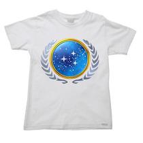 Camiseta Infantil Star Trek Jornada Nas Estrelas L - 2 Ao 16