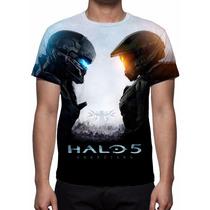 Camisa, Camiseta Game Halo 5 Guardians 2015 - Estampa Total