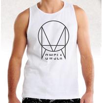 Camiseta Masculina Regata Dj Owsla Skrillex Dubstep