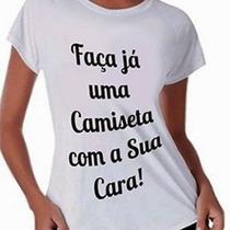 Camisas Personalizadas Por Sublimação
