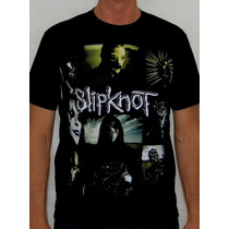 Rock Estampa - Camiseta Slipknot - All Hope Is Gone