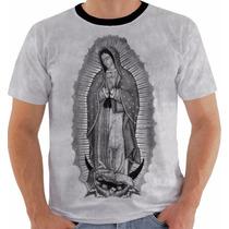 Camisa Camiseta Baby Look Regata Nossa Senhora De Guadalupe