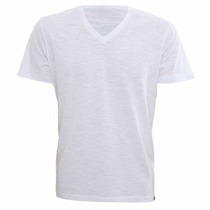 Camisa 100% Poliéster Branca Lisas Fio 30,1 ( Kit Com 20 )
