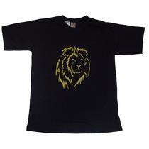Camiseta Gospel Leão De Judá Br