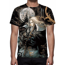 Camisa, Camiseta Game Castlevania Symphony Of The Night