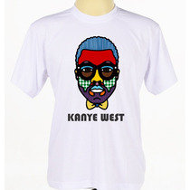 Camisa Camiseta Customizada Rapper Kanye West Rap Hip Hop