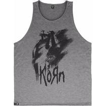 Promoção Camiseta Regata Barata Bandas Rock Metal Korn